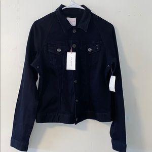 Isaac Mizrahi Dark Blue Demin Jacket Sz L